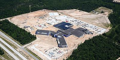Progress Continues at Harmony's New High School
