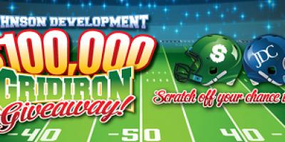 Harmony Joins Johnson Development's $100,000 Gridiron Giveaway